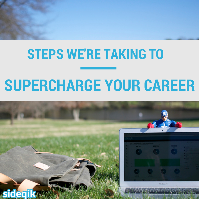 Steps we're taking to supercharge your career - development internships