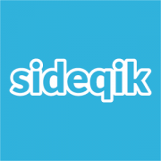 Blue Sideqik logo
