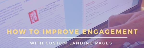 improve engagement - header