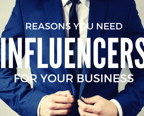why you need influencers for your business