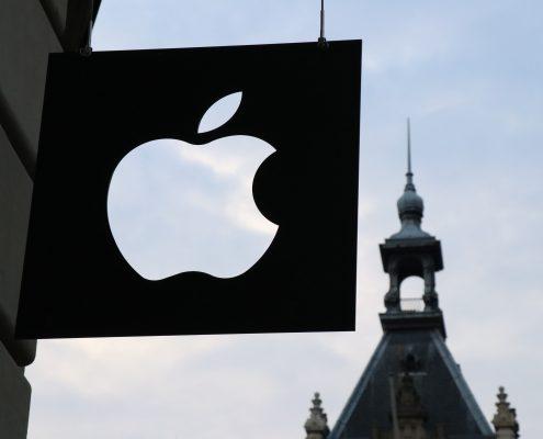 Apple sign