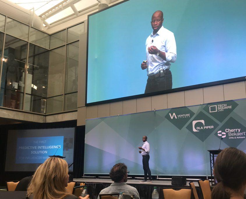 Tremain McGlown presenting at Venture Atlanta
