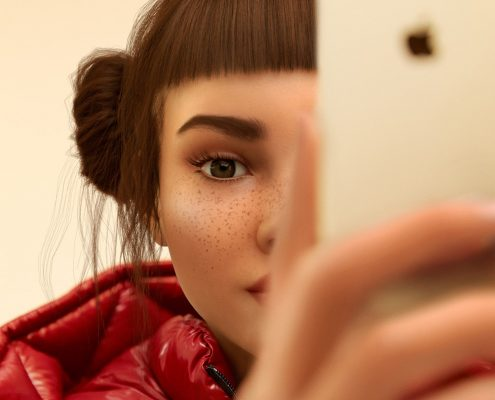 Virtual Reality Influencer Miquela